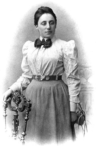 Portrait of Emmy Noether